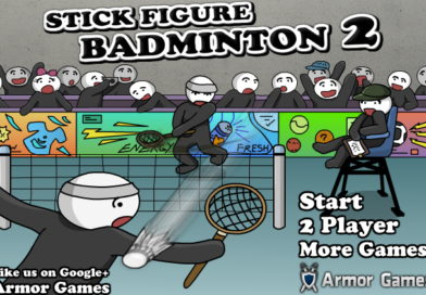 Stick Figure Badminton 2 (теннис на двоих)