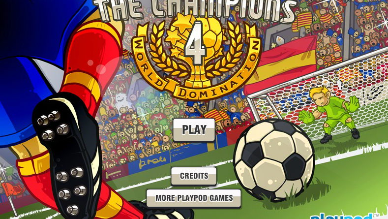 THE CHAMPIONS 4 – WORLD DOMINATION. Super soccer!